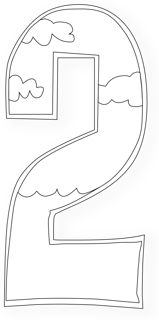 Roller Coaster Coloring Page #7