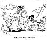 7 No cometerás adulterio