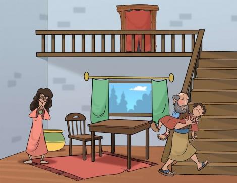 Elías y la viuda de Sarepta 4