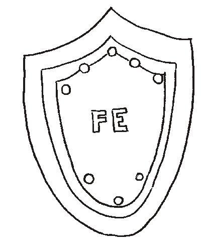 Dibujos de la armadura de dios para colorear - Imagui