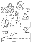 La samaritana y Jesús