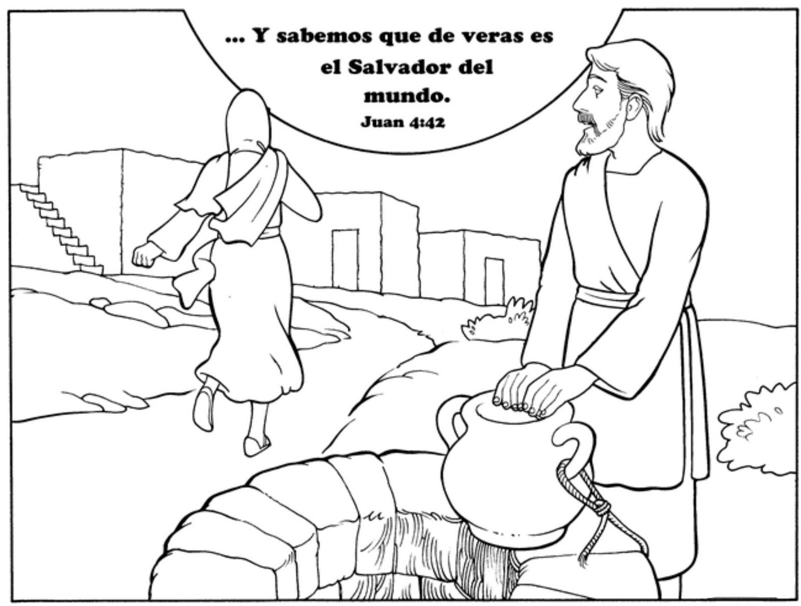 Dibujos De Jesus Para Colorear Para Niños