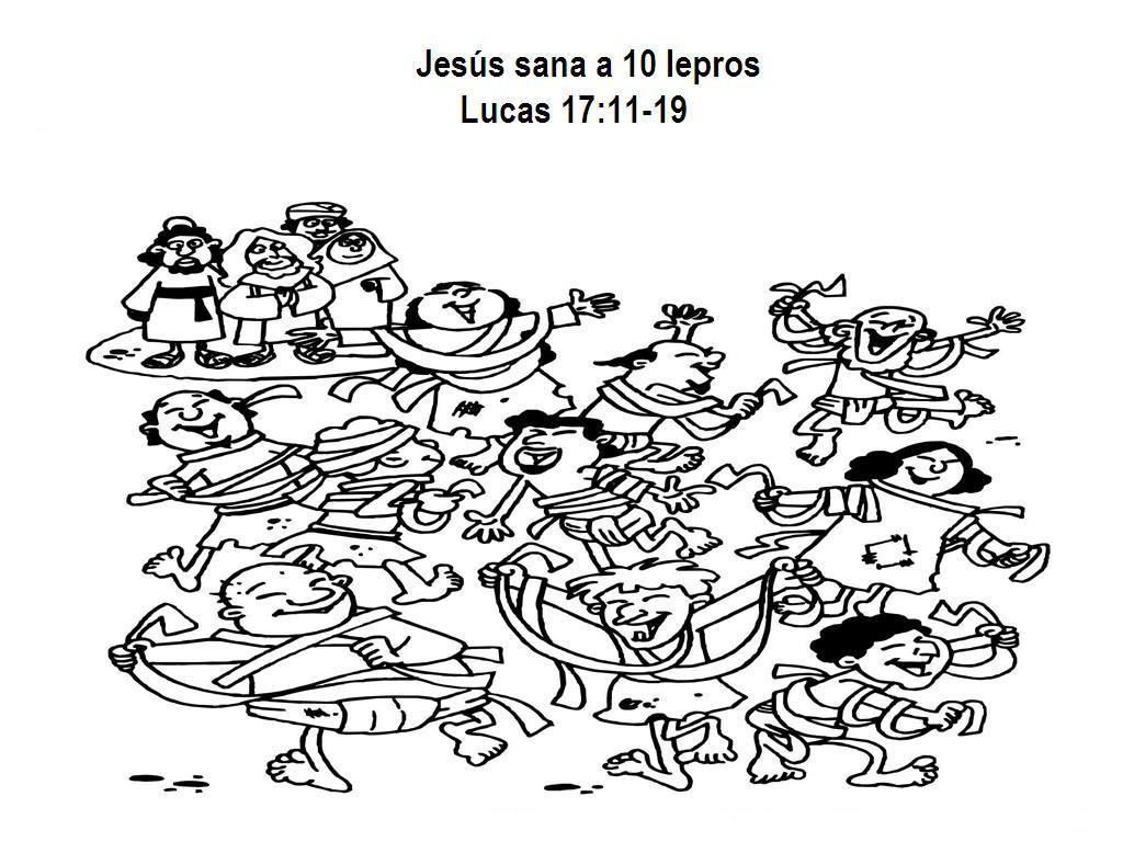 Lucas 1711 19 Los Diez Leprosos | apexwallpapers.com