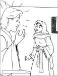 5 Gabriel visita a María