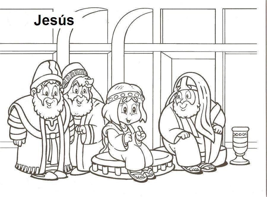 Asombroso Para Colorear Jesus Imprimible Modelo - Dibujos Para ...