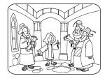 El niño Jesús en el templo 4