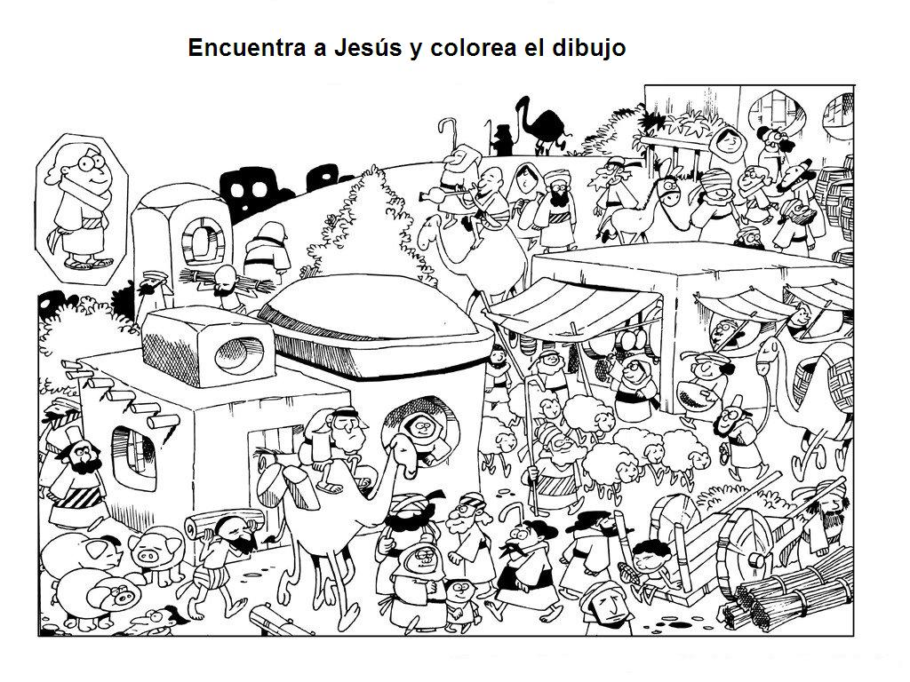 Famoso Jesus Borra El Templo Para Colorear Patrón - Enmarcado Para ...